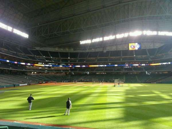 Minute Maid Park, section: 154, row: 6, seat: 10