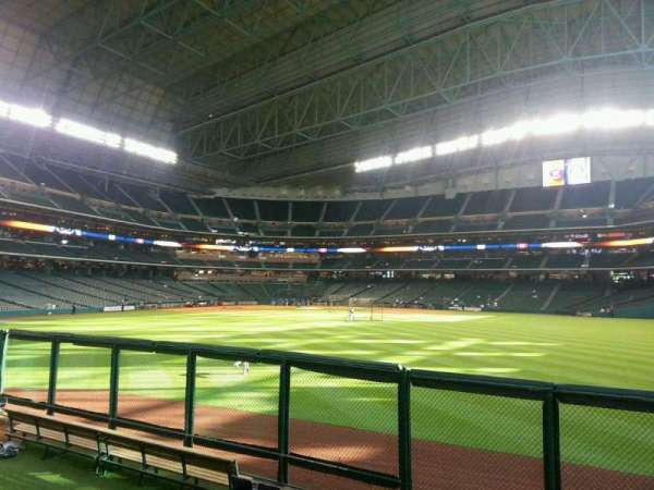 Minute Maid Park, section: 156, row: 1, seat: 15