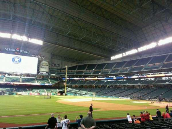 Minute Maid Park, section: 109, row: 14, seat: 10