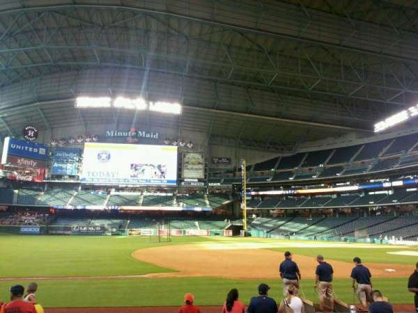 Minute Maid Park, section: 111, row: 9, seat: 3