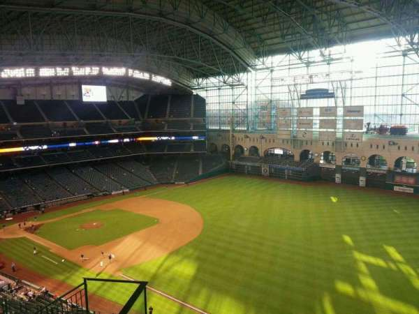 Minute Maid Park, section: 432, row: 5, seat: 5