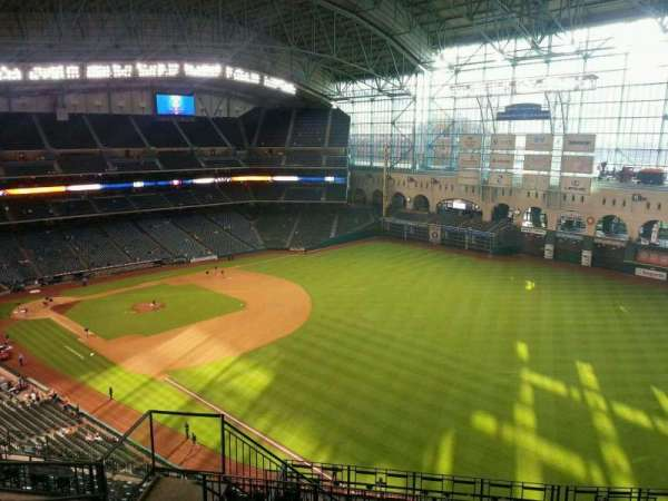 Minute Maid Park, section: 433, row: 7, seat: 6