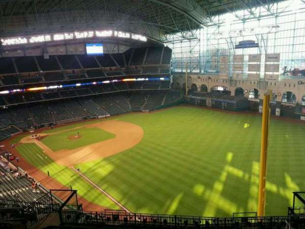 Minute Maid Park, section: 434, row: 9, seat: 10