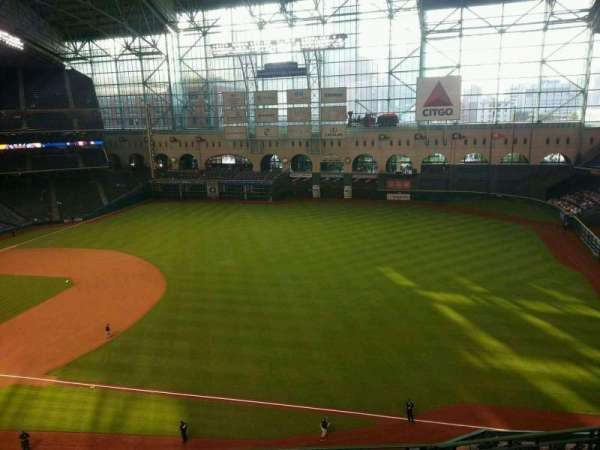 Minute Maid Park, section: 330, row: 4, seat: 10