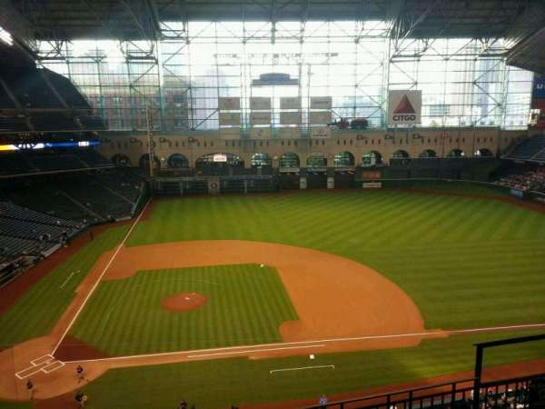Minute Maid Park, section: 325, row: 4, seat: 18