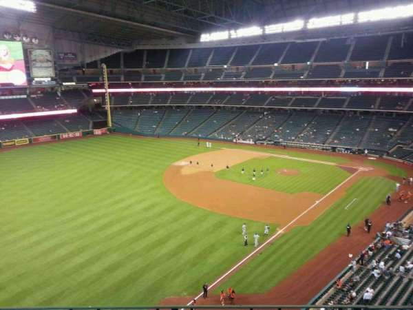 Minute Maid Park, section: 307, row: 3, seat: 10