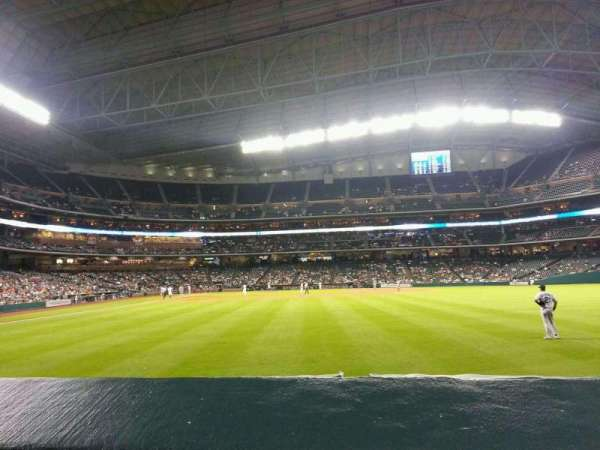 Minute Maid Park, section: 153, row: 1, seat: 7