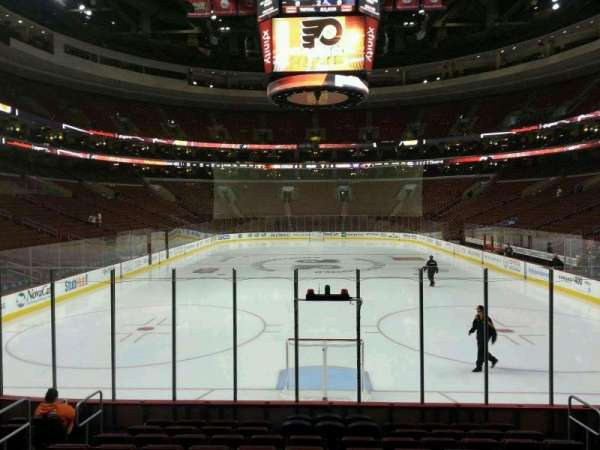 Wells Fargo Center, section: 119, row: 11, seat: 8