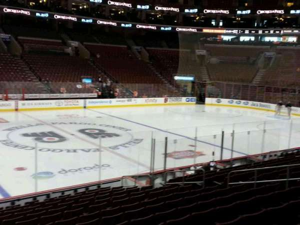 Wells Fargo Center, section: 112, row: 15, seat: 6