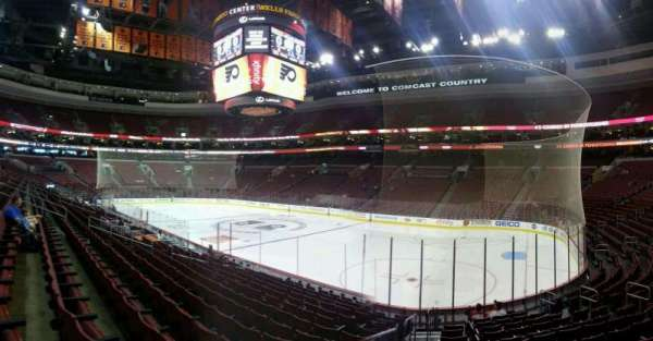 Wells Fargo Center, section: 104, row: 14, seat: 10