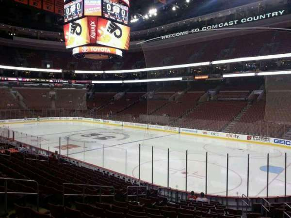 Wells Fargo Center, section: 104, row: 17, seat: 10