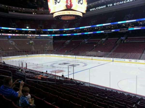 Wells Fargo Center, section: 103, row: 15, seat: 14