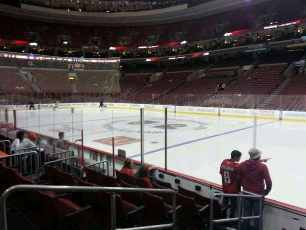 Wells Fargo Center, section: 103, row: 7, seat: 3