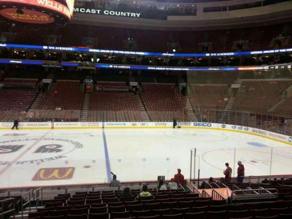 Wells Fargo Center, section: 103, row: 16, seat: 4