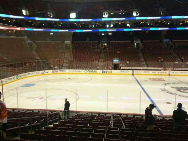 Wells Fargo Center, section: 112, row: 16, seat: 6