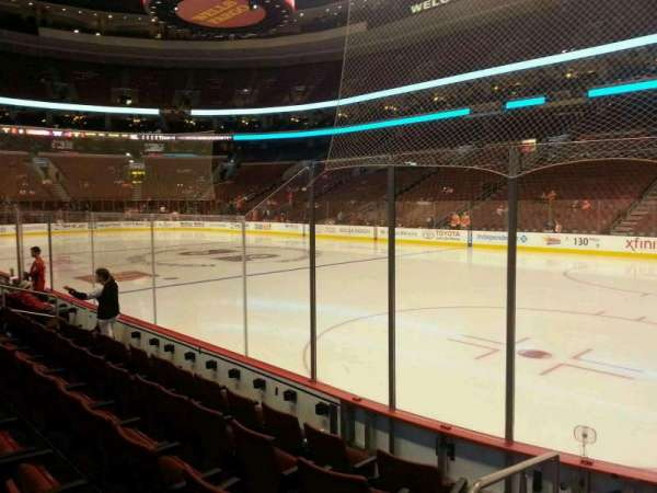 Wells Fargo Center, section: 104, row: 6, seat: 1