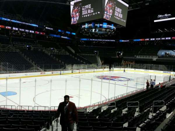 Barclays Center, section: 12, row: 10