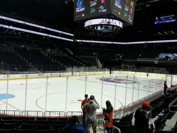 Barclays Center, section: 13, row: 10, seat: 1