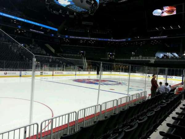 Barclays Center, section: 9, row: 4, seat: 18