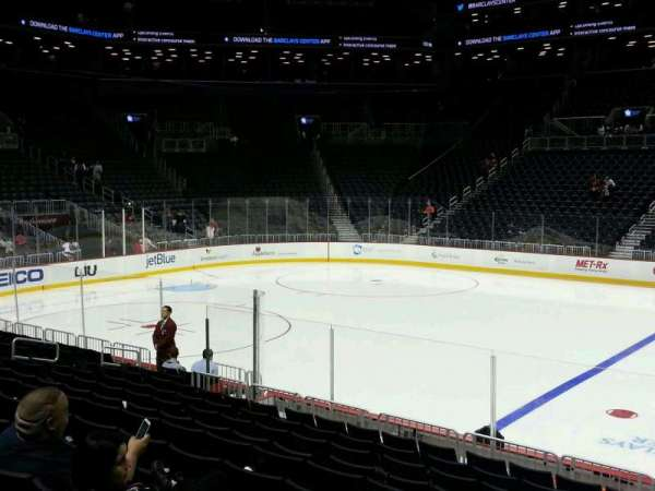 Barclays Center, section: 7, row: 13, seat: 18