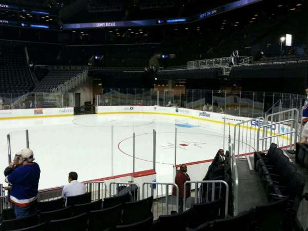 Barclays Center, section: 6, row: 10, seat: 7