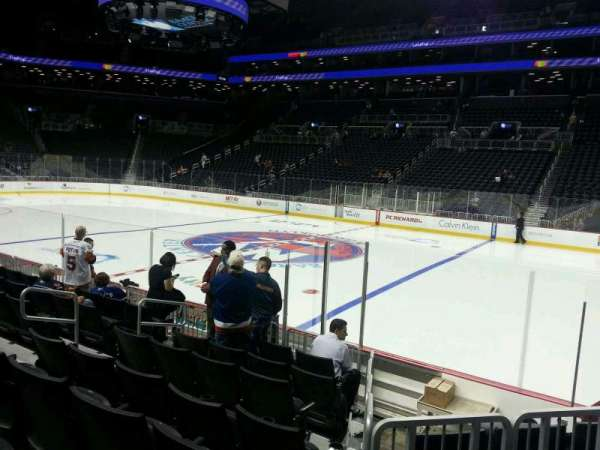 Barclays Center, section: 4, row: 9, seat: 7