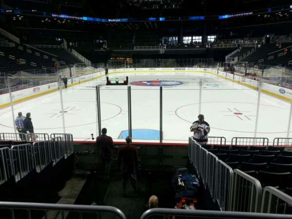 Barclays Center, section: 16, row: 10, seat: 7