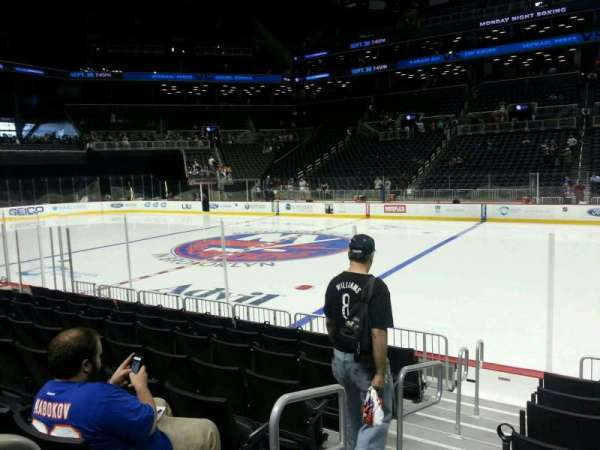 Barclays Center, section: 23, row: 5, seat: 18