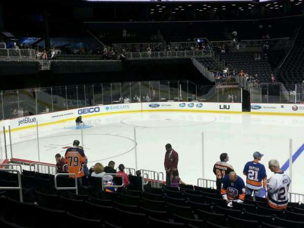 Barclays Center, section: 25, row: 12, seat: 10