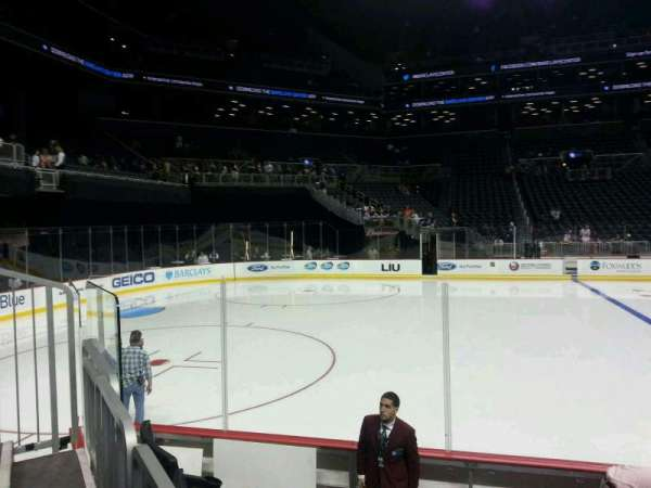 Barclays Center, section: 28, row: 7, seat: 1