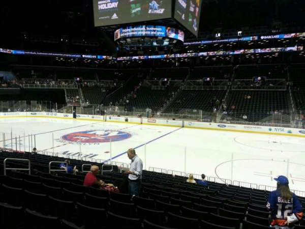 Barclays Center, section: 23, row: 16, seat: 4