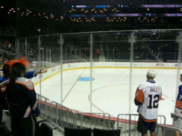 Barclays Center, section: 10, row: 5, seat: 7
