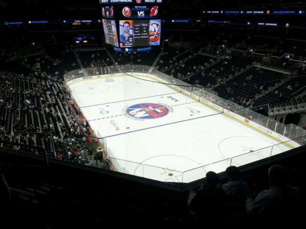 Barclays Center, section: 202, row: 5, seat: 13