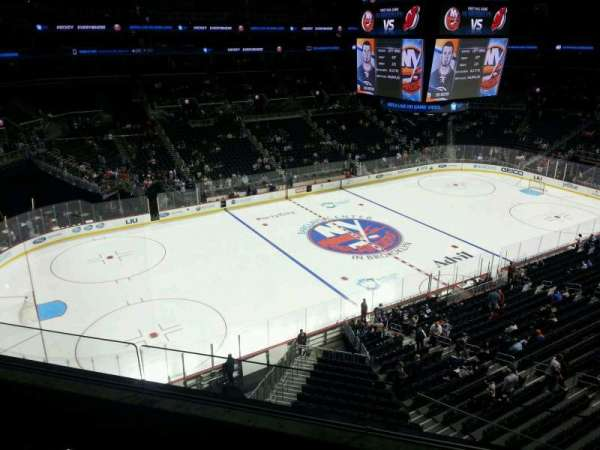 Barclays Center, section: 228, row: 3, seat: 13