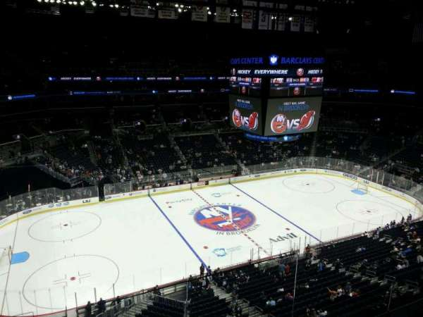 Barclays Center, section: 227, row: 1, seat: 2