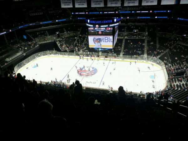 Barclays Center, section: 223, row: 20, seat: 3