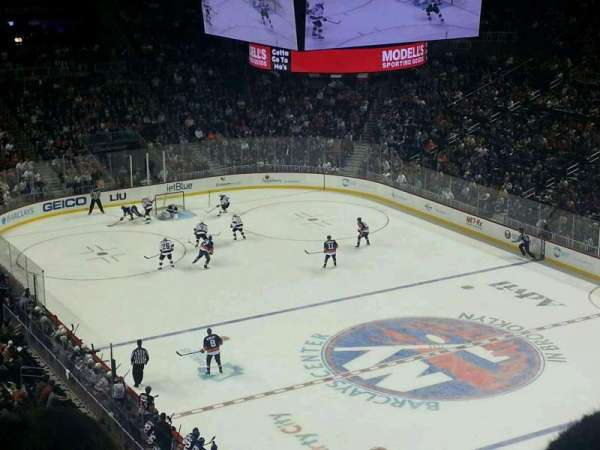 Barclays Center, section: 203, row: 3, seat: 15
