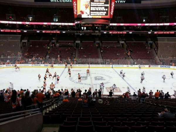 Wells Fargo Center, section: Club Box 1