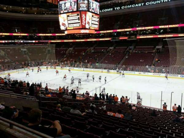Wells Fargo Center, section: CB3, row: 2, seat: 12