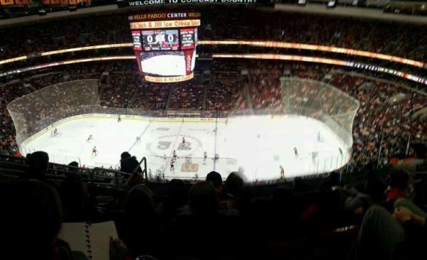 Wells Fargo Center, section: 202, row: 9, seat: 6