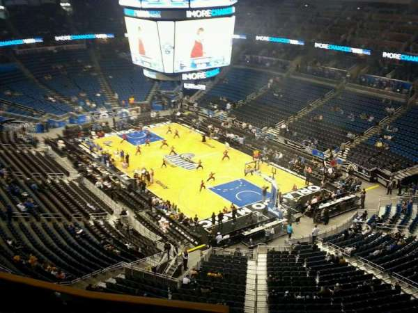 Amway Center, section: 204, row: 4, seat: 10