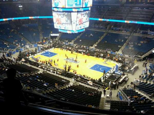Amway Center, section: 206, row: 4, seat: 10
