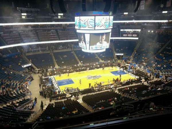 Amway Center, section: 211, row: 3, seat: 10