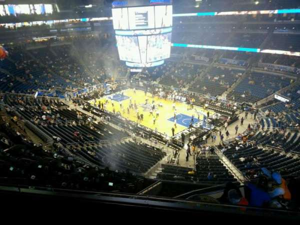Amway Center, section: 221, row: 3, seat: 10