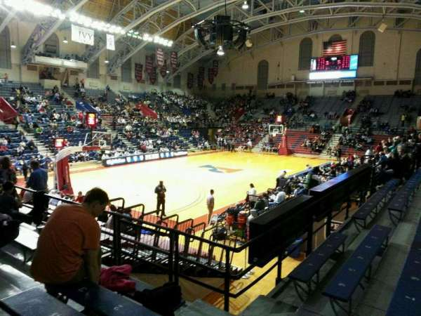 Palestra Section 207 Row 4 Seat 1