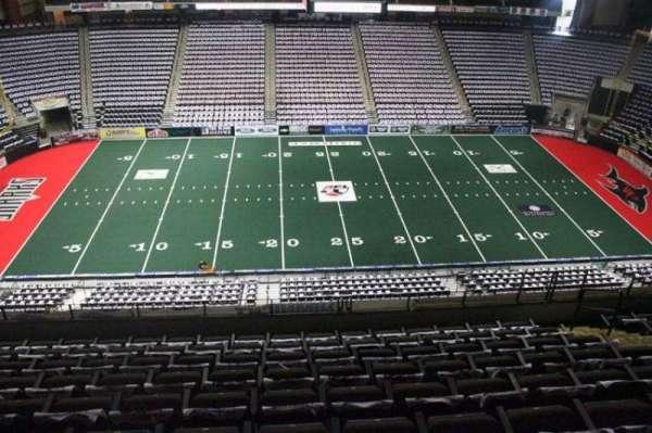 Jacksonville Veterans Memorial Arena, section: 304, row: H, seat: 10