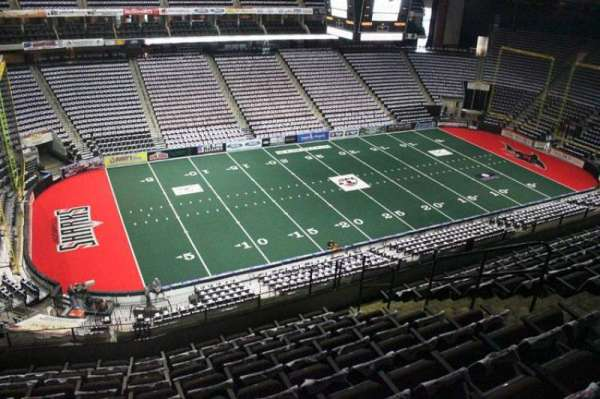Jacksonville Veterans Memorial Arena, section: 306, row: H, seat: 7
