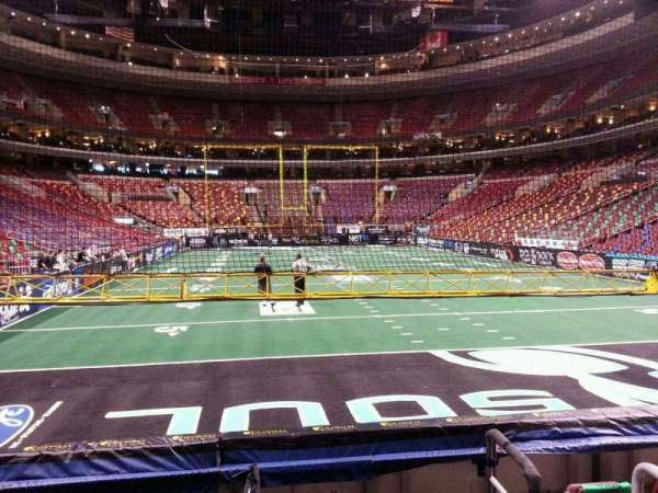Wells Fargo Center, section: 106, row: 6, seat: 22