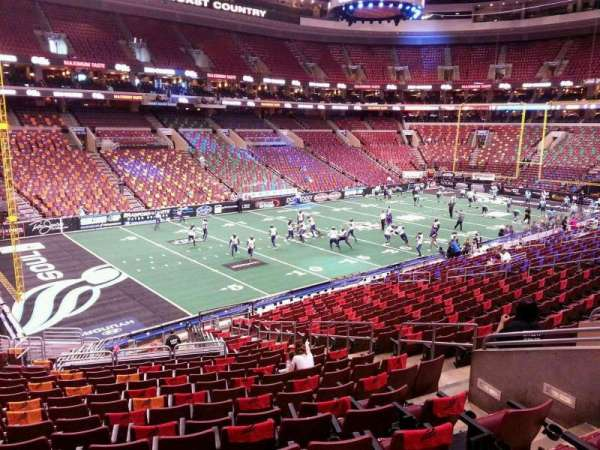 Wells Fargo Center, section: PS22, row: 1, seat: 11