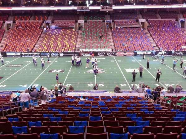 Wells Fargo Center, section: SB1, row: 1, seat: 7
